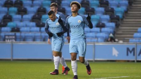 Man City U18s 4-1 Blackburn: Sancho hat-trick