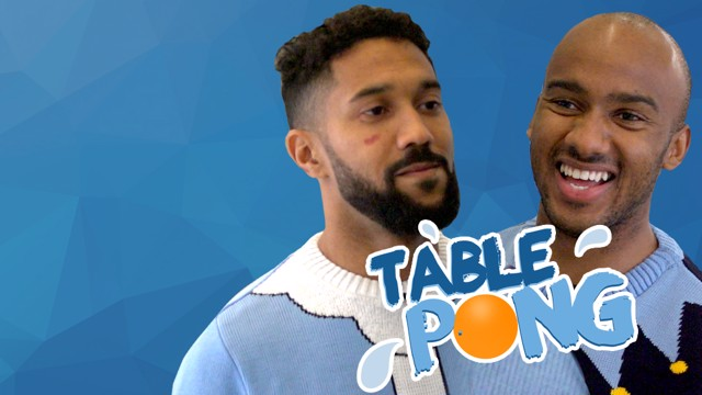 TABLE PONG: Gael Clichy and Fabian Delph face off in a CityTV challenge