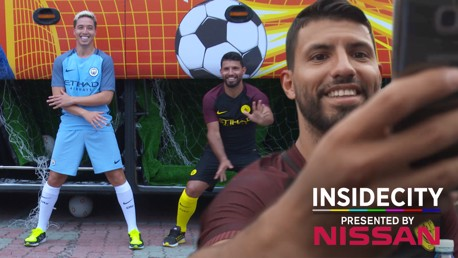 SELFIE: City have been busy in East Asia this week