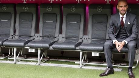 TEAM PEP: Guardiola names bench