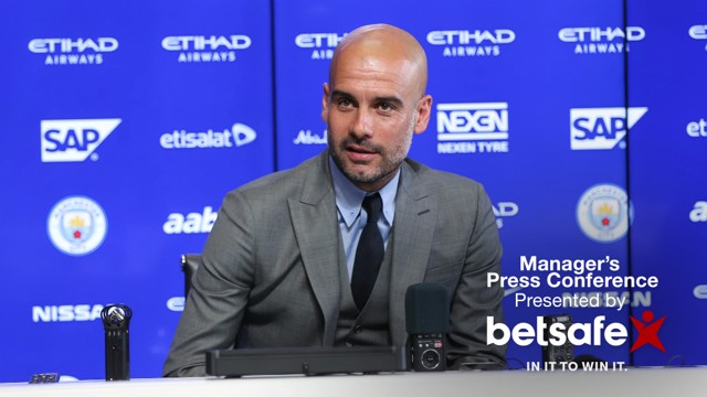 PEP PREP: Pep Guardiola expects the Premier League to be physical