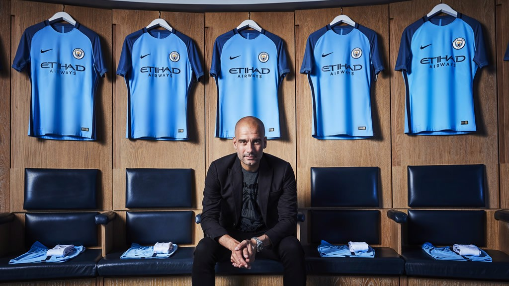 9e1b2688 Manchester City 2016/17 home kit launched