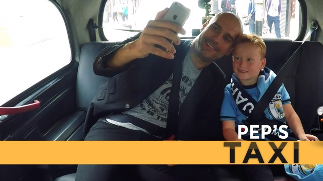 SELFIE TIME: Pep and new best pal Braydon