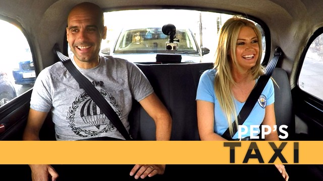 SURPRISE!: Imagine getting in a taxi and finding Pep Guardiola waiting for you!