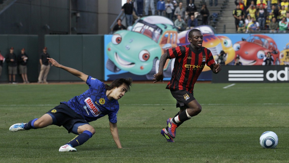SHAUNY WRIGHT: The speedy winger found the net against the Mexican side