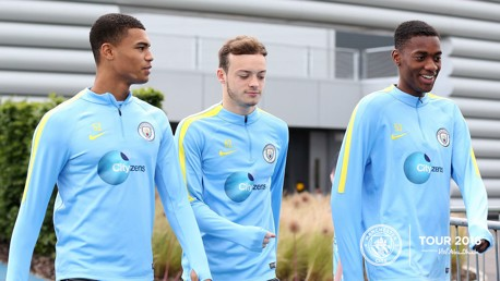 Introducing: City's Young Guns ready for China