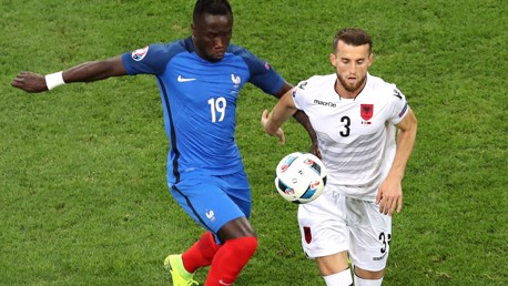 STILL IN THE RACE: Bacary Sagna
