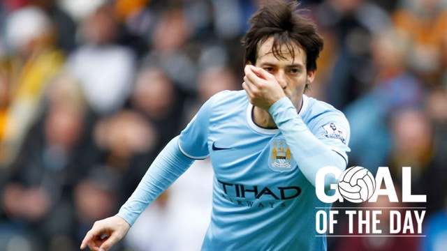 Manchester City Goal of the Day: David Silva v Hull