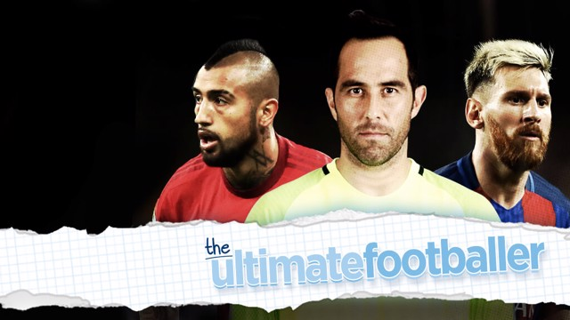 WORLDWIDE STARS: Bravo has played alongside the likes of Arturo Vidal and Lionel Messi in his illustrious career