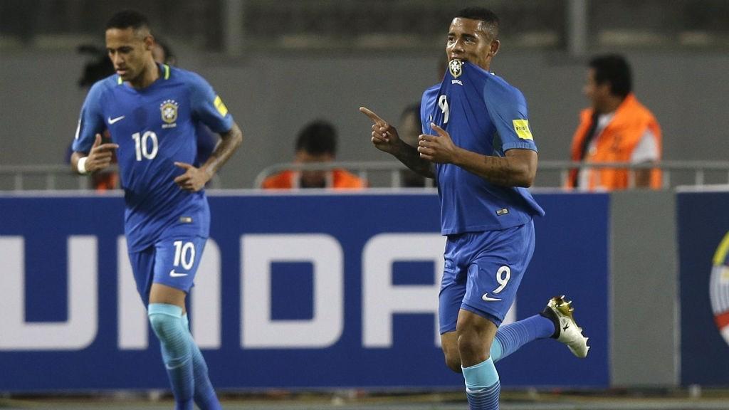 BOYS FROM BRAZIL: Neymar and Gabriel Jesus