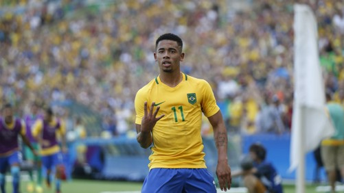 READY: Gabriel Jesus wants more title wins with Manchester City.