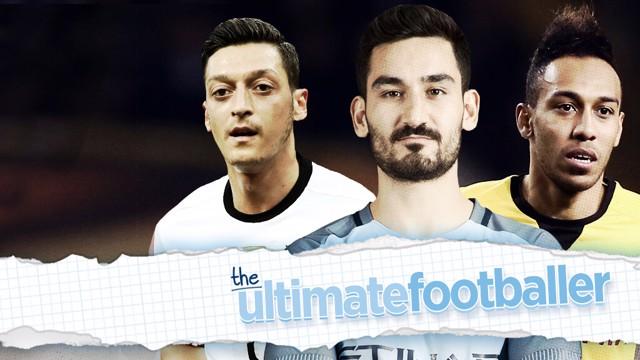BALLER: Sergio Aguero, David Silva, Mesut Ozil and Pierre-Emerick Aubameyang make Ilkay Gundogan's ultimate footballer.
