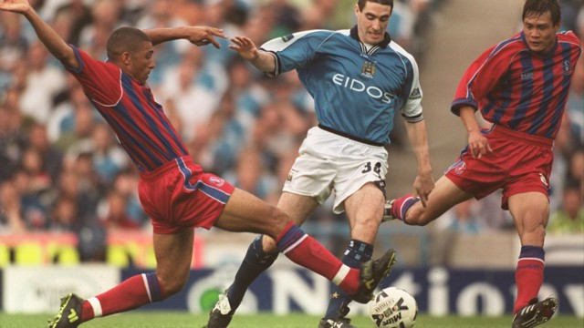 REPPING BOTH: Kennedy was a star for City and Palace