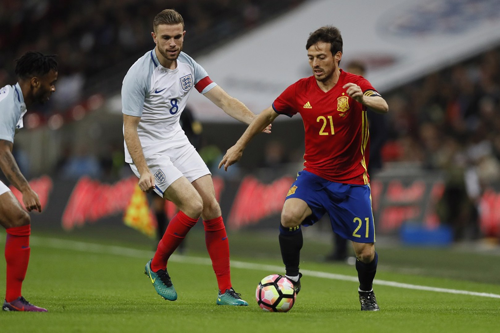 Stones and Sterling shine for England