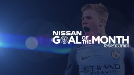 Nissan Goal of the Month: November