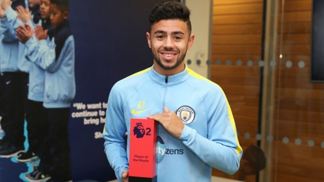 Fernandes named PL2 Player of the Month