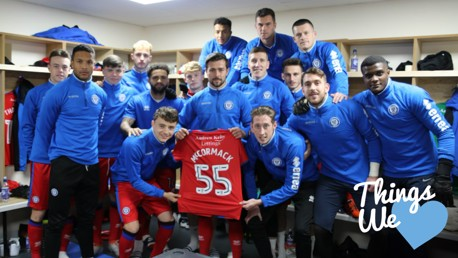 THINGS WE LOVE: Rochdale named young fan Joshua McCormack on their teamsheet