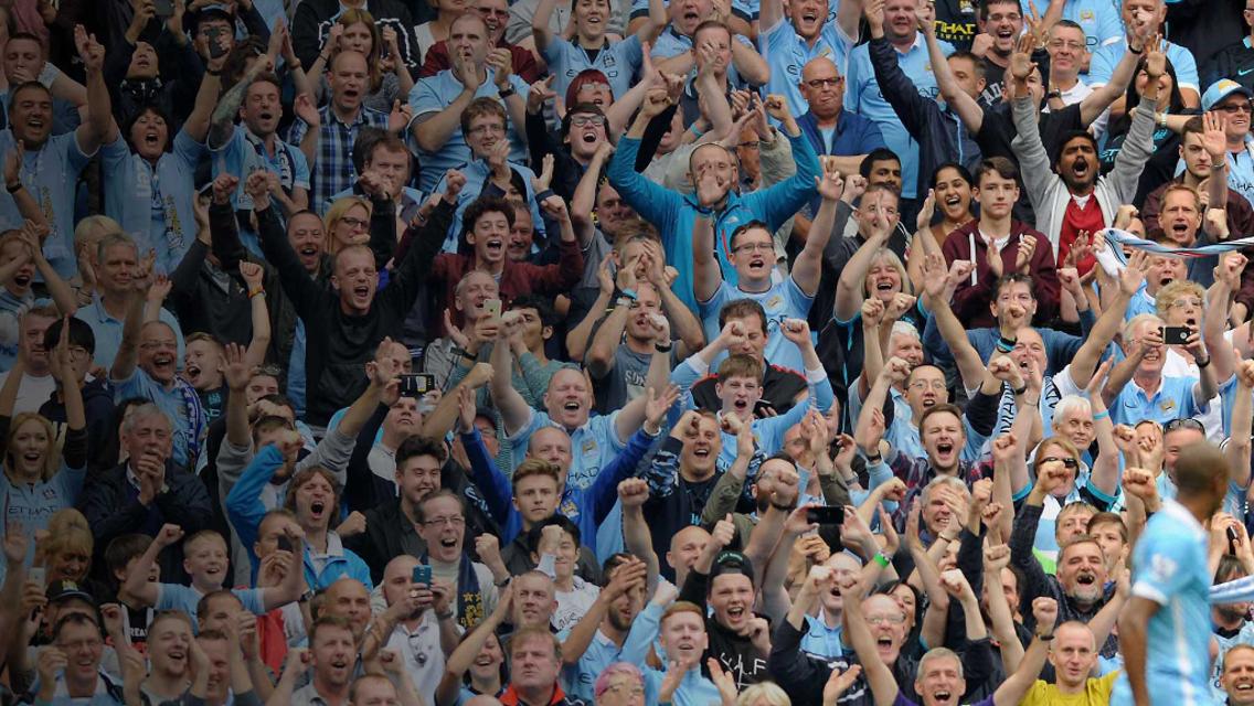 Manchester City FC fans