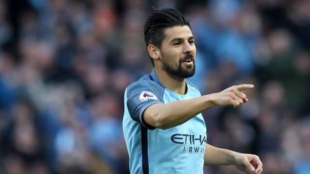 BIRTHDAY GOAL: Nolito earns a point