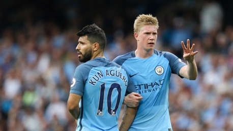 ASSIST KING: De Bruyne leads the way
