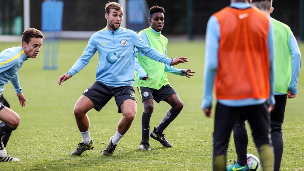 HORSY: City's reliable right-back in training ahead of the trip to Southampton