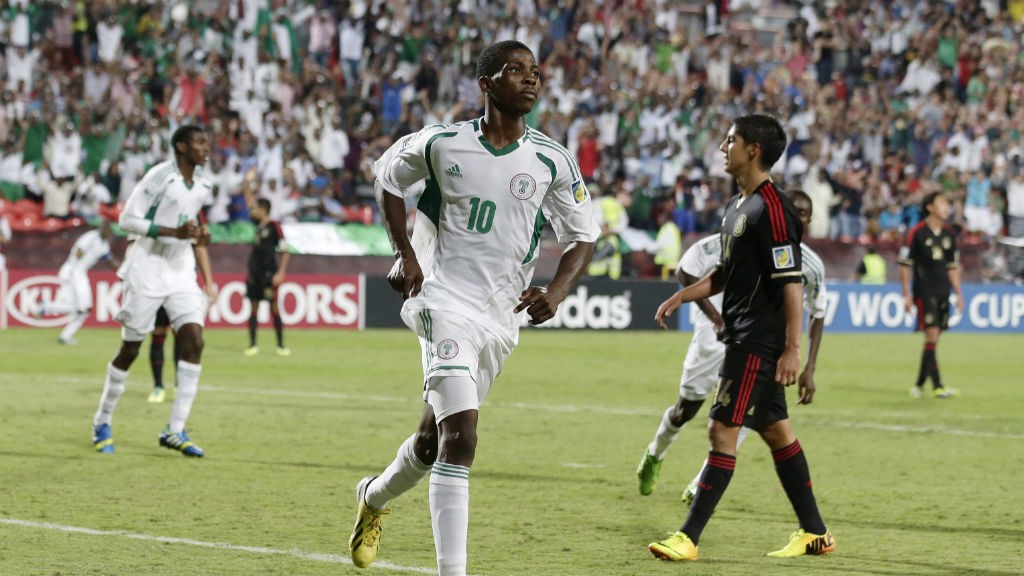 EASY: Kelechi reacts to his cool finish against Mexico