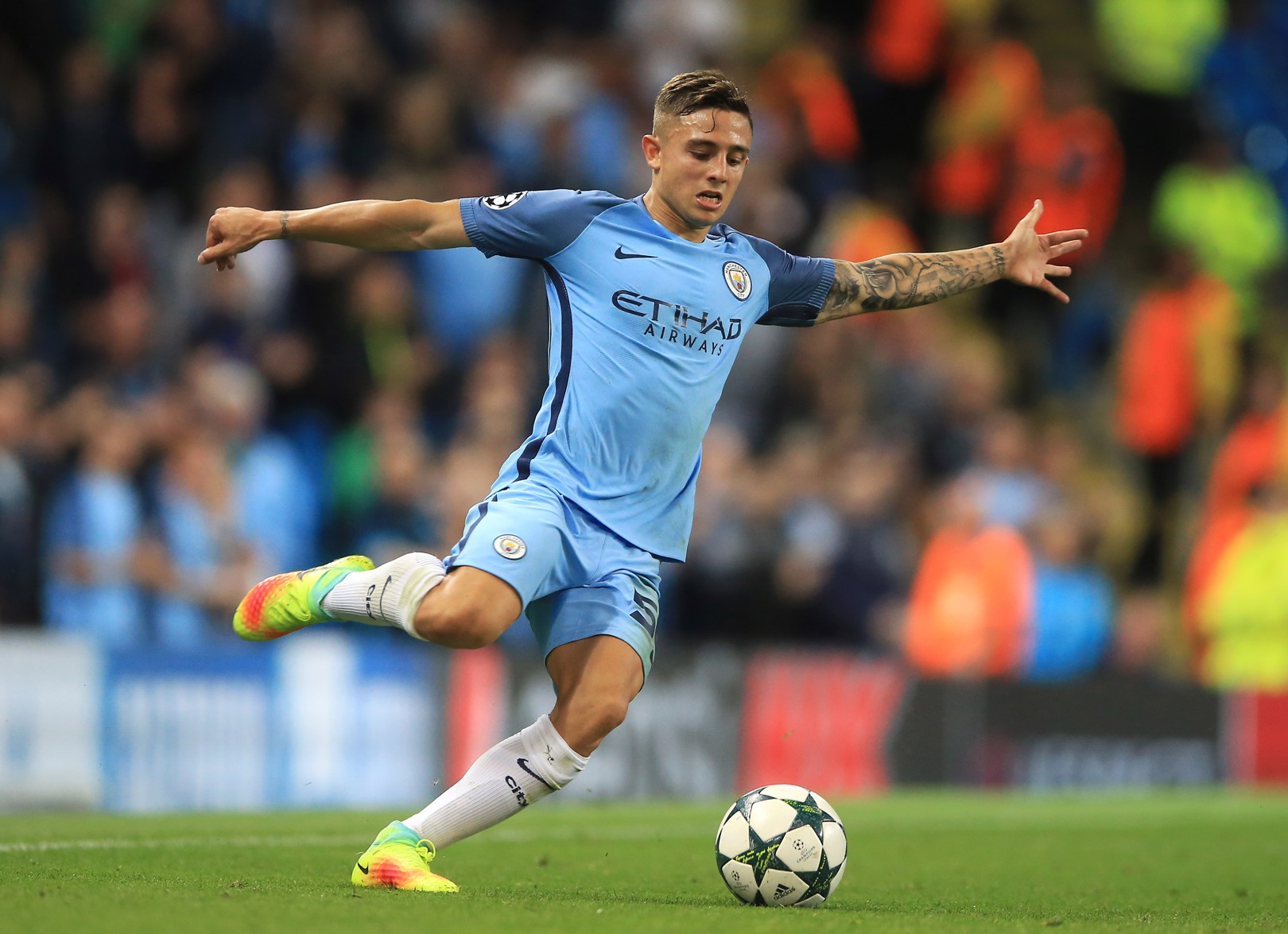 Pablo Maffeo is in contention for a start