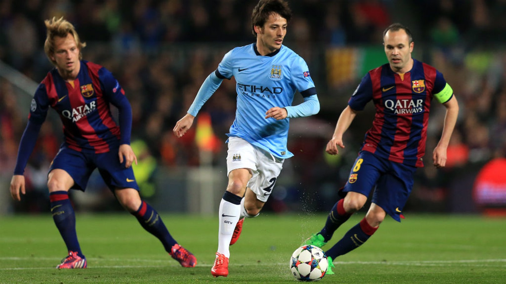 Watch Barca v City for free with BT