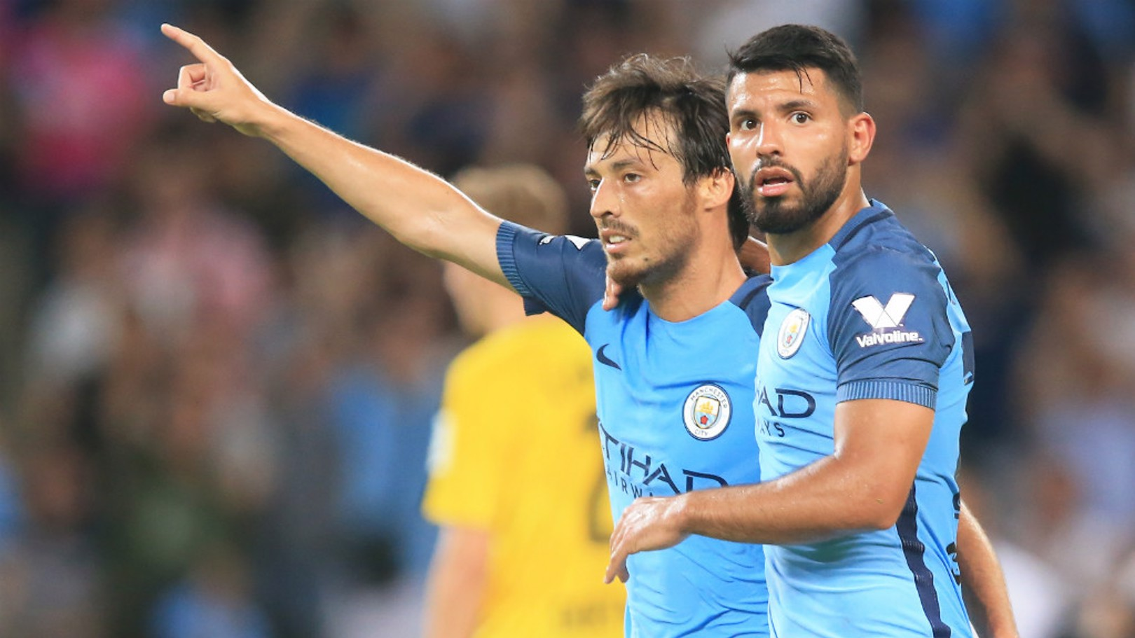 Aguero & Silva: Blues on right track in Europe