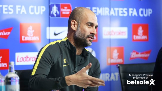 PASS MASTERS: Guardiola wants his side to pass their way to success
