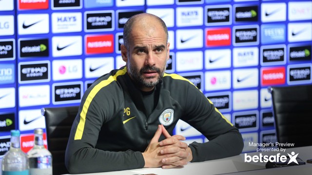 PRESS CONFERENCE: Pep Guardiola addresses the media ahead of the game