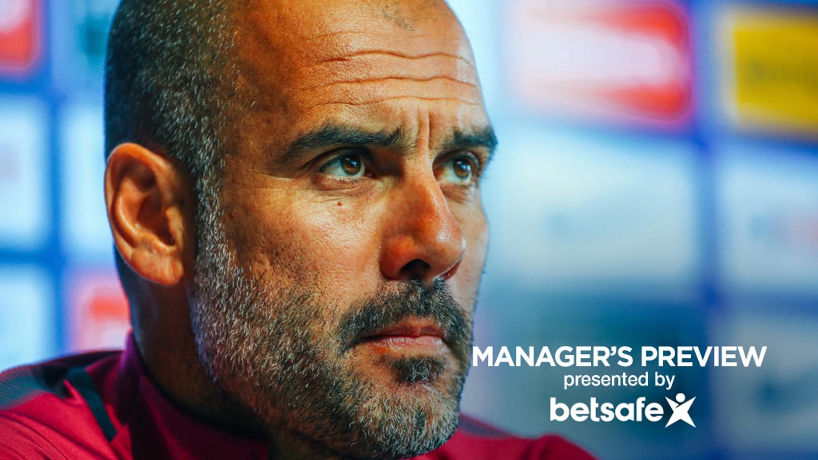 리버풀전을 앞두고... 펩 과르디올라 감독