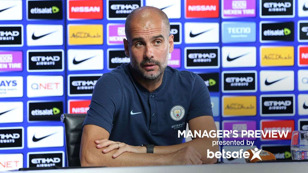 PRE-MATCH: Pep Guardiola delivers his team news ahead of the weekend game against Crystal Palace