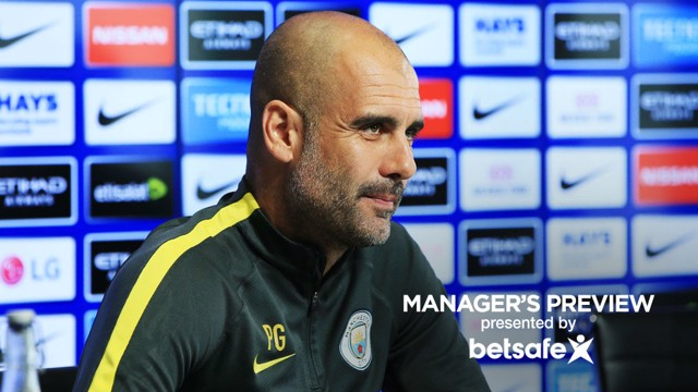 SUMMER PLANS: Pep discusses the summer transfer window with the press