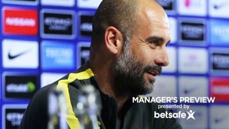 Pep: We're always looking to get better