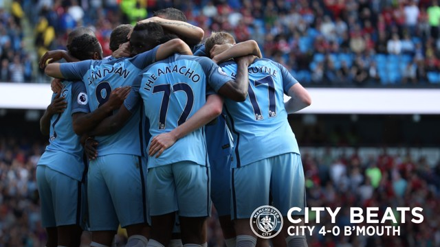 CITY BEATS: City v Bournemouth