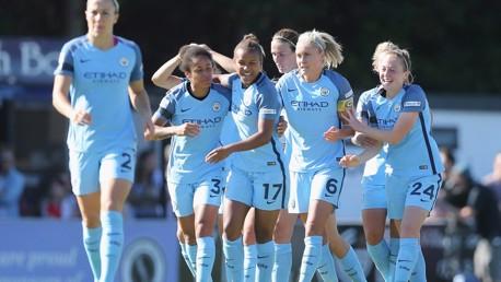 Arsenal Ladies 0 City Women 1: Highlights