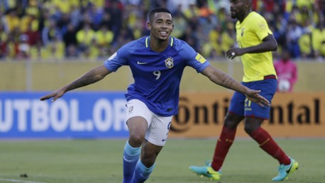 GABRIEL JESUS: What a player we will have....