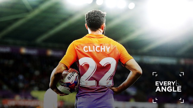 CLICHY GOAL:  All angles of his strike versus Swansea