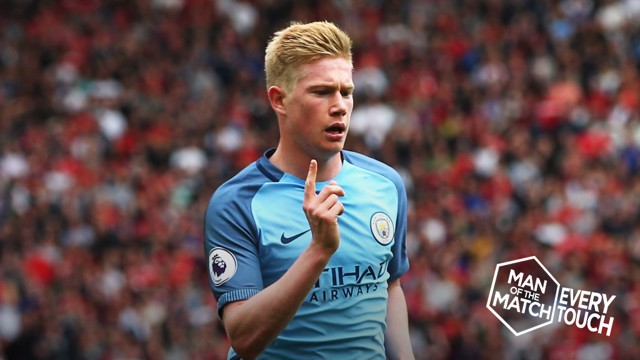 EVERY TOUCH: KDB's MOTM-winning display at Old Trafford