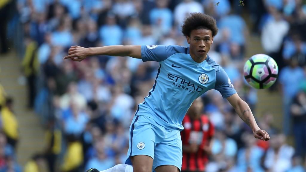 SANE CHOICE: Leroy enjoyed his best game yet against Everton
