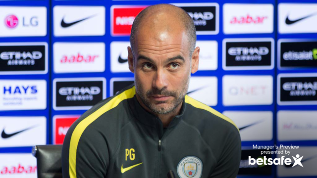 WORK TO DO: Pep knows it will be difficult against Everton