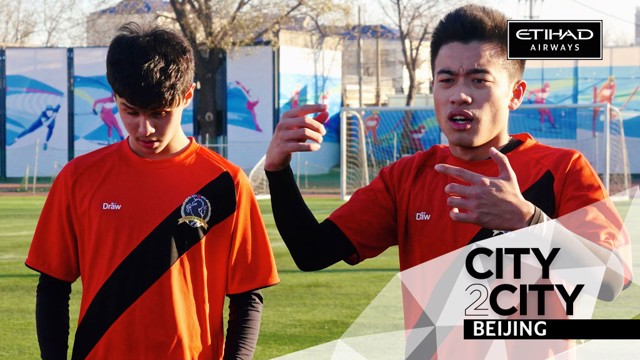 CITY2CITY: Focusing on grassroots football in Beijing.