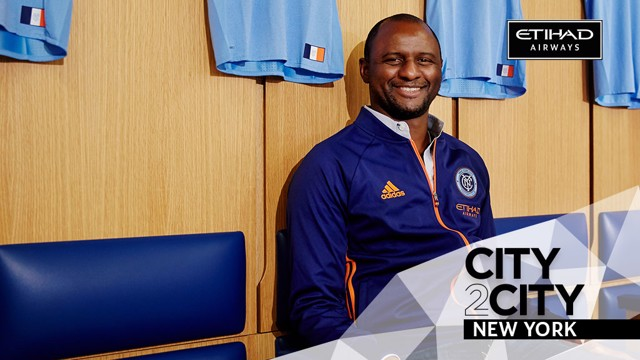 CITY2CITY: Patrick Vieira features in our New York episode.