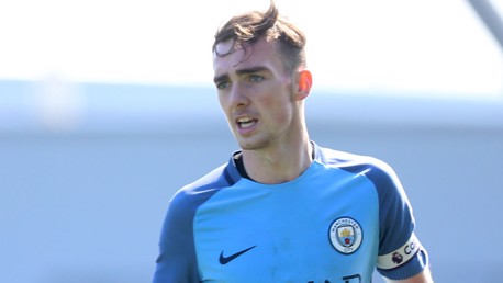 FRANCIS: City's captain believes his teammates showed a steely character in the first leg of the FA Youth Cup final