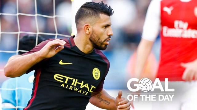 GOTD: Aguero v Arsenal