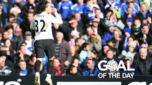 GOAL OF THE DAY | Tevez v Chelsea 2010