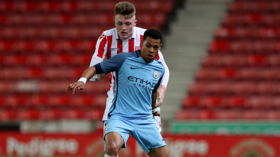 NMECHA: City's striker is in fine form at both U18s and EDS level