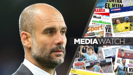 GUARDIOLA: City's boss has been honoured by L'Equipe