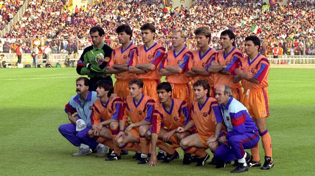 1992년 유럽의 챔피언이 된 펩과 바르셀로나